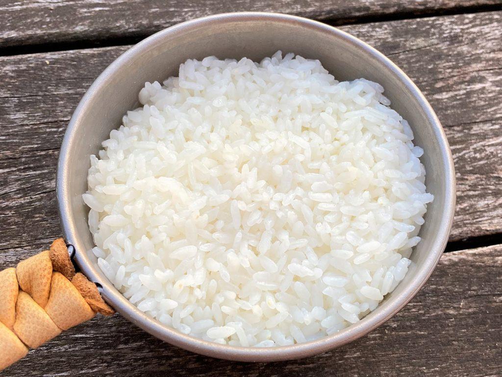 炊きあがったお米