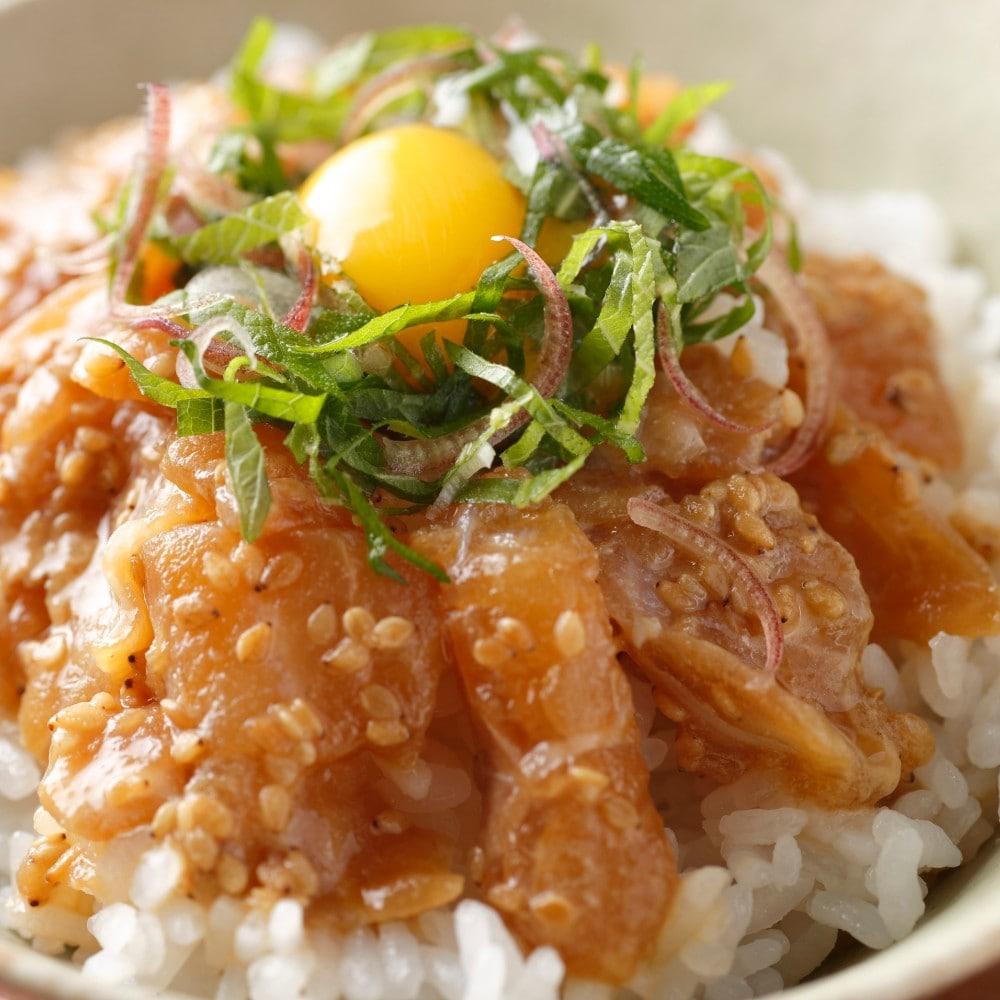 高知県産の天然真鯛使用!「お刺身のづけ」が再登場です!