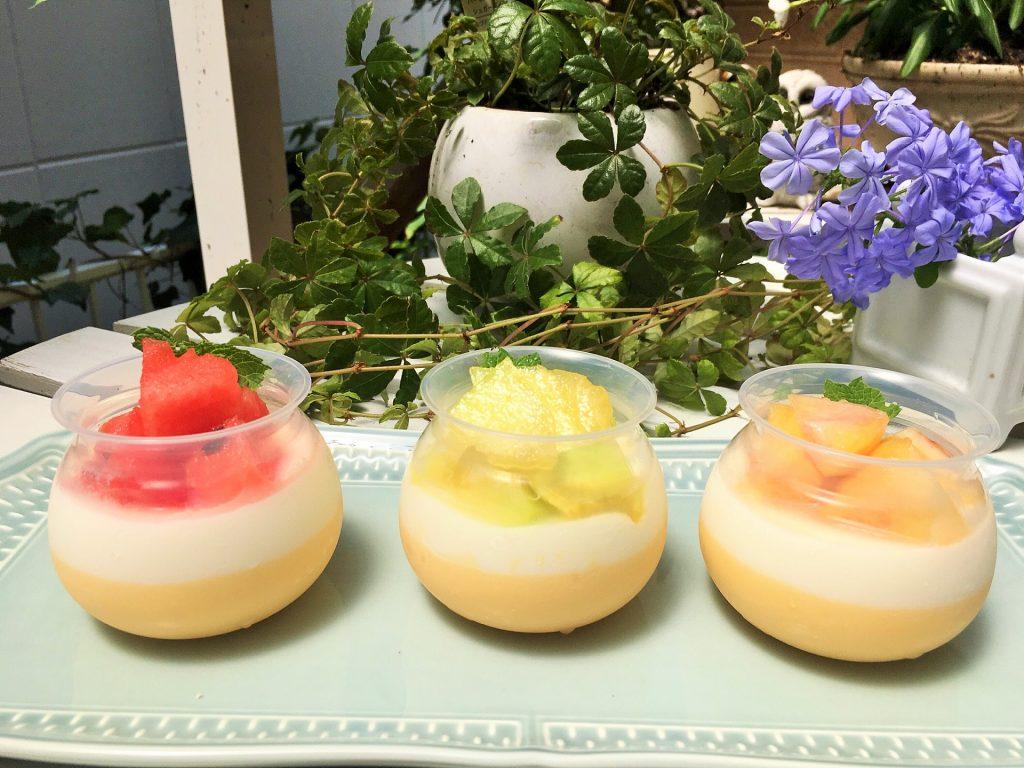 ブレジュのプディングに季節の果実をのせて 涼やかな夏のスイーツを楽しむ〔ブレジュレシピ監修者 内藤則子氏より〕